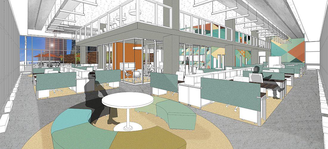 Oculus Inc Interior Design Team Projects Corporate Office Education Healthcare Etc St Louis Mo Dall Interior Interior Design Projects Design Projects