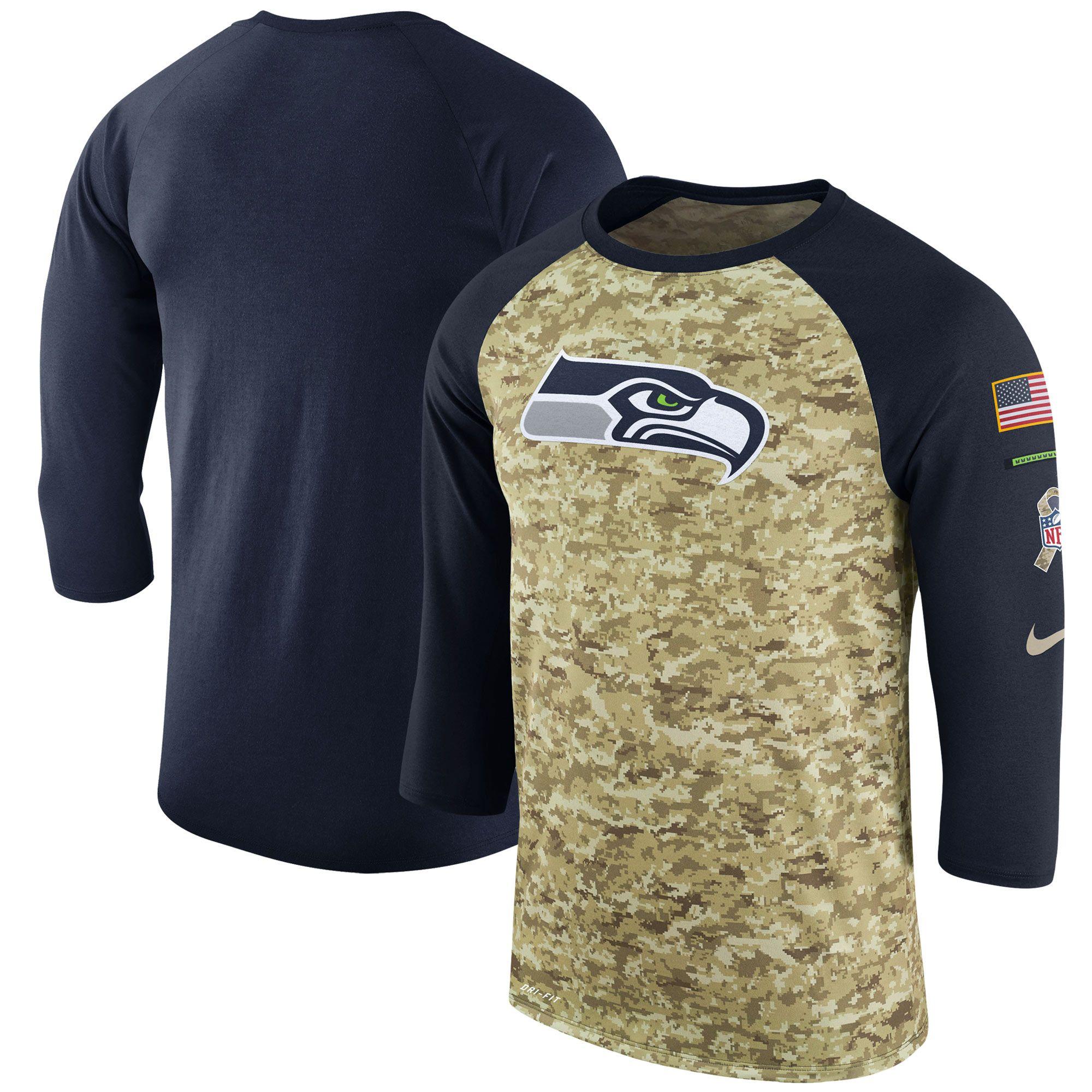 the best attitude bdbe0 0cd12 NFL Seattle Seahawks Nike Salute to Service Sideline Legend ...