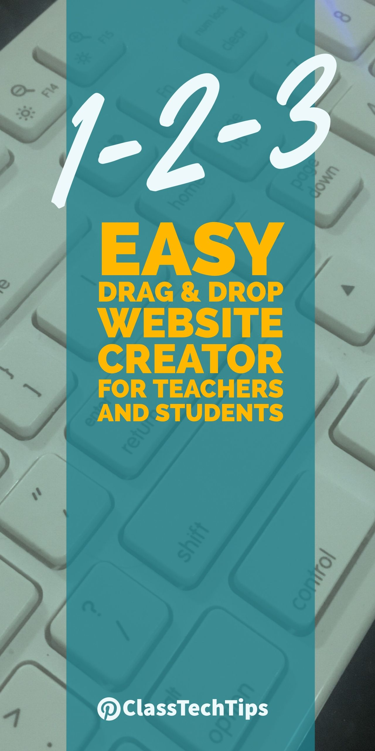 1 2 3 Easy Drag Drop Website Creator For Teachers And Students