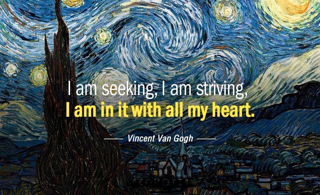 Vincent Van Gogh Van Gogh Quotes Vincent Van Gogh