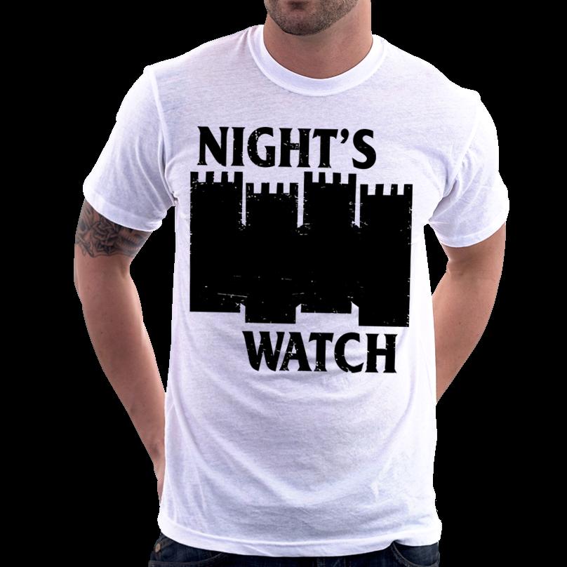 Camiseta Camisa Game Of Thrones Black Flag Night Watch