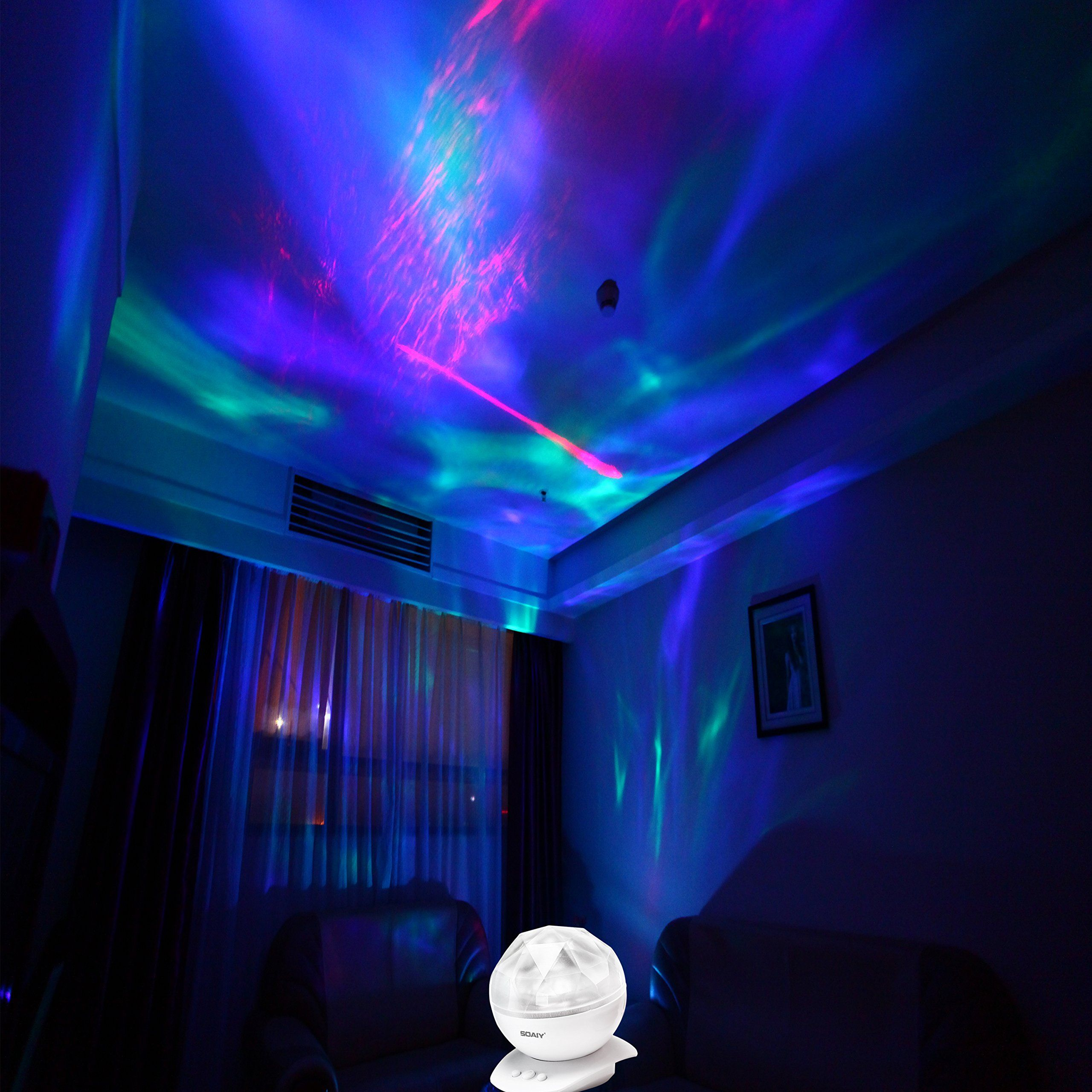 Bedroom Colors Pictures Mood Lighting Bedroom Classic Bedroom Ceiling Design Bedroom Ideas Hgtv: Soaiy® SY-NL04 Color Changing Led Night Light Lamp