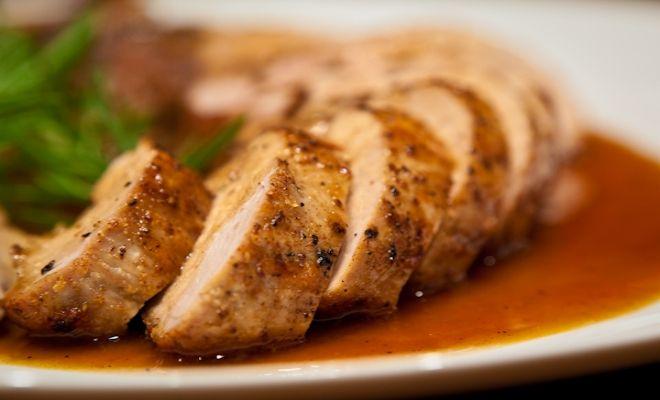 Slow Juicer Garlic : Slow Cooker Pork Loin - honey, balsamic vinegar, Dijon mustard, apple juice, garlic powder, salt ...