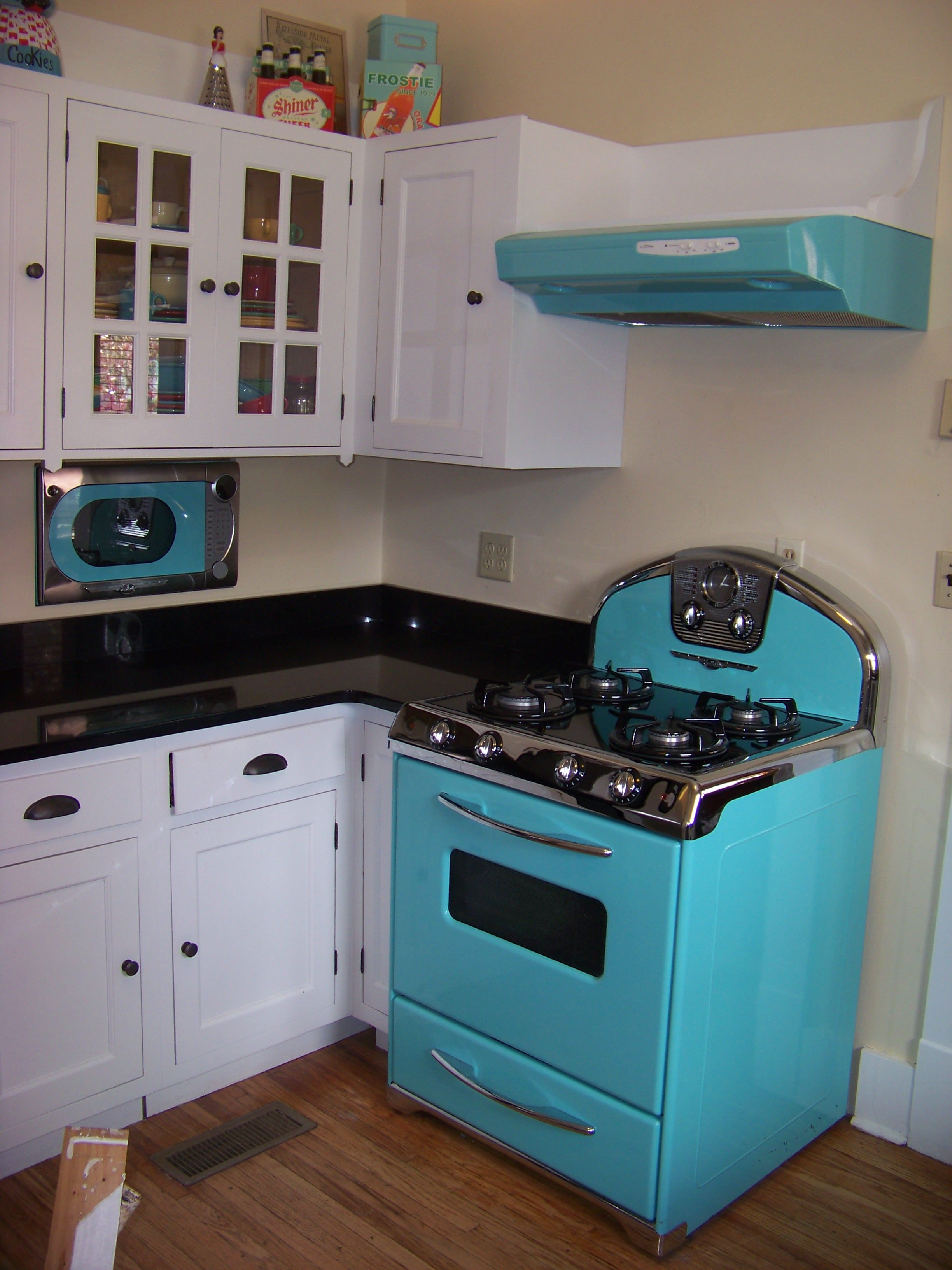 50s Style Kitchen Homswet