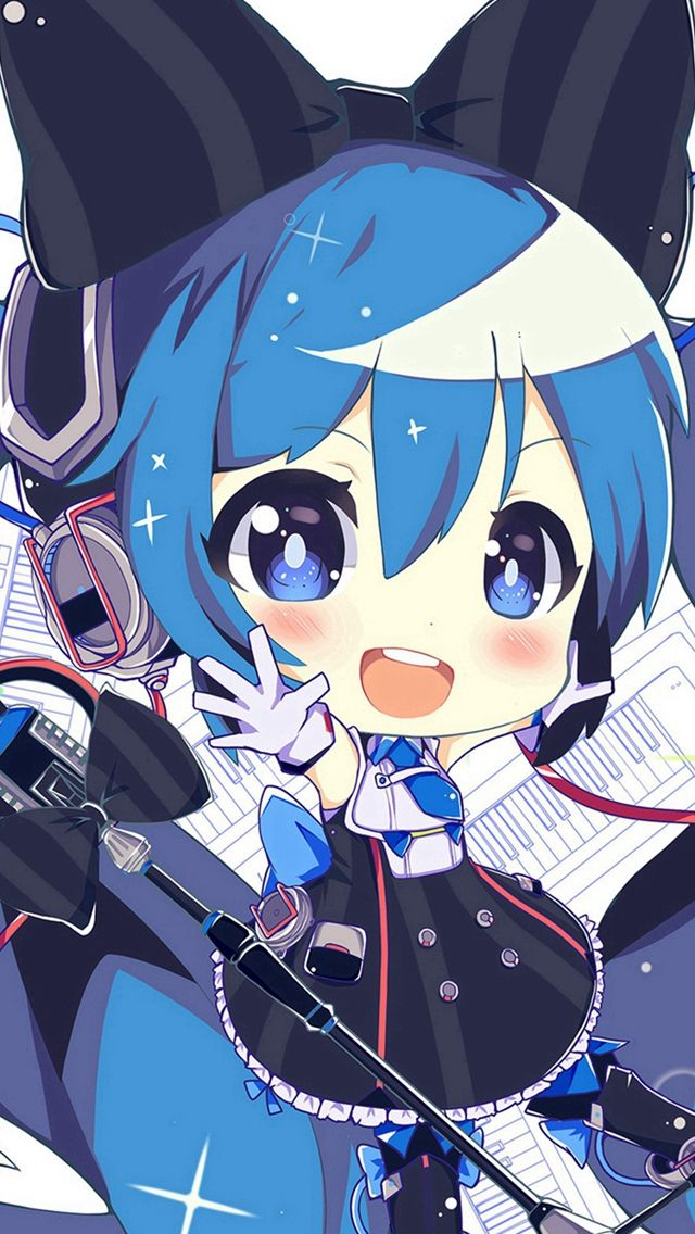 Pin On Iphone Wallpapers Chibi anime wallpaper for android