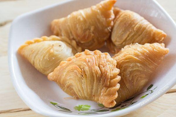 Karipap Pusing Segera Untuk Minum Petang Asian Snacks Savoury Food Curry Chicken