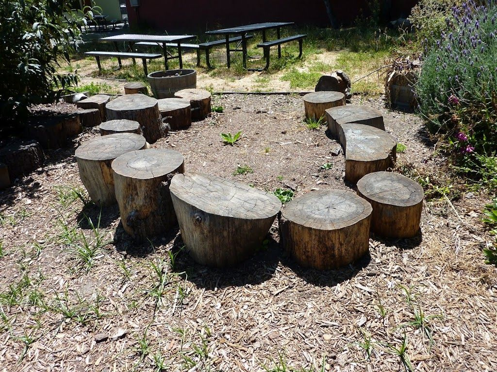 Log Benches Outdoor Tree Stumps