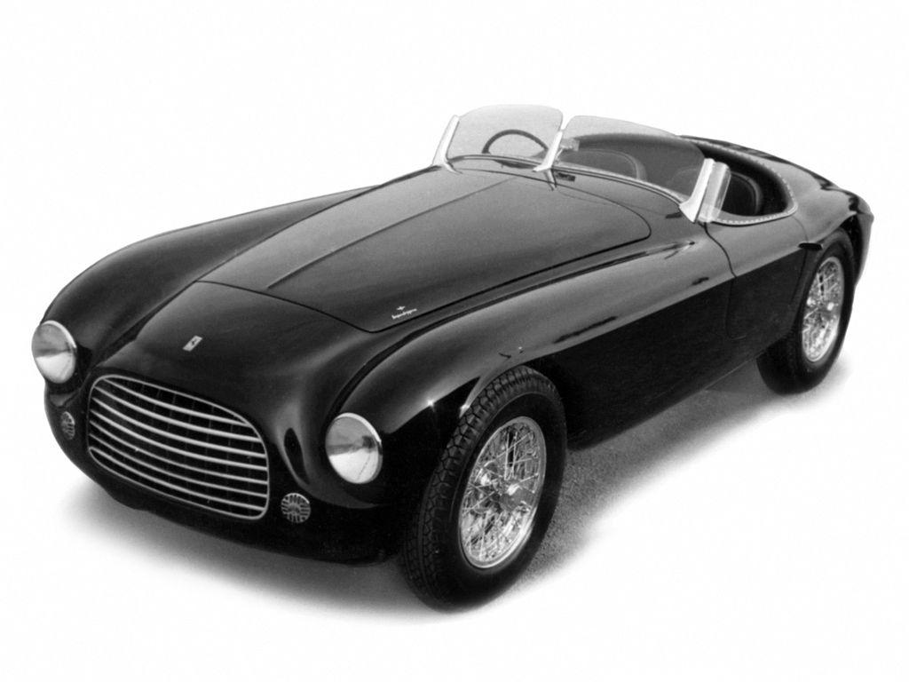 Ferrari 340 America Barchetta 0144a 1952 Touring произведен в единственном экземпляре Ferrari Touring Sports Car