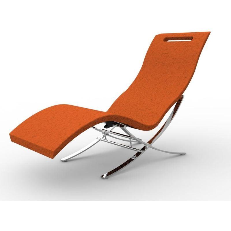 Chaise Longue Arkema Avec Base Blanc Arkema Design Prodotto Made In Italy Cv S120 9003 Outdoor Decor Sun Lounger Outdoor Furniture