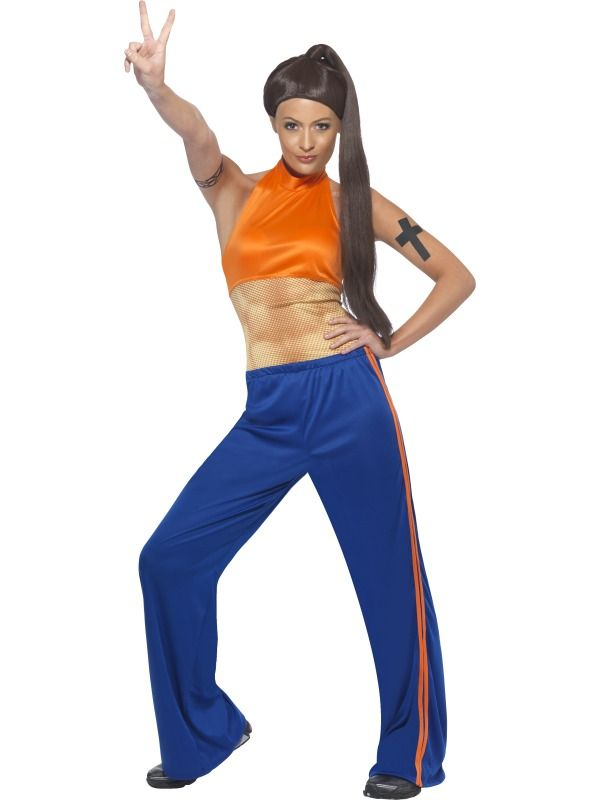 Sporty power 1990s icon costume frojos rock star look sporty power 1990s icon costume frojos sciox Image collections