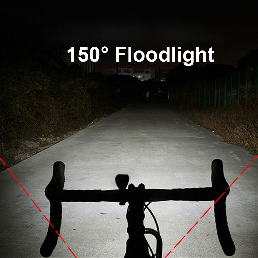 LED Flashlight For Bicycle Cycling Headlignt 350 Lumen Bike Front Lights Night