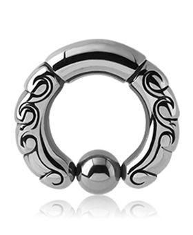 Ornament Piercing Ring