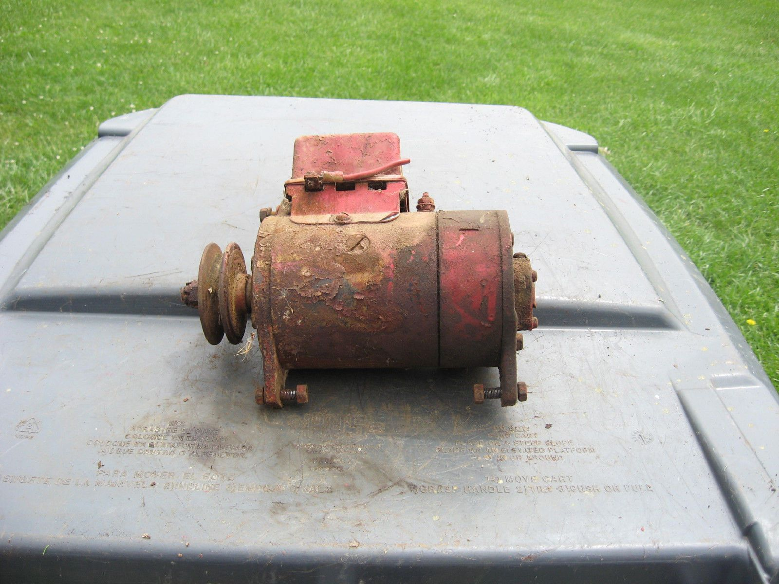 Farmall Cub Voltage Regulator 6 Volt Wiring Harness Routing Tractor Generator And Alternator Diagram