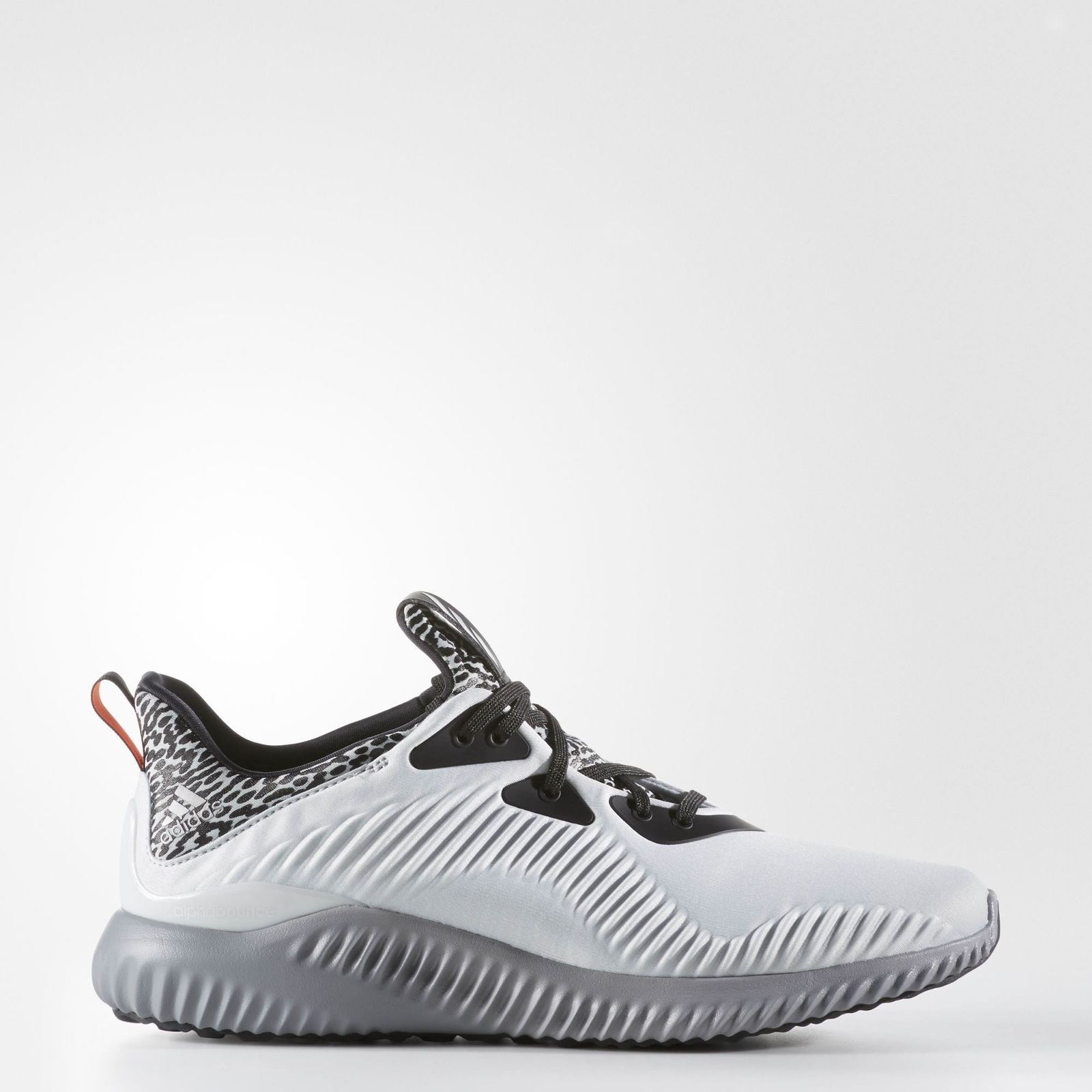 Alphabounce Em Stretch-knit Sneakers - BlackAdidas Sport 7oQxwiidKp