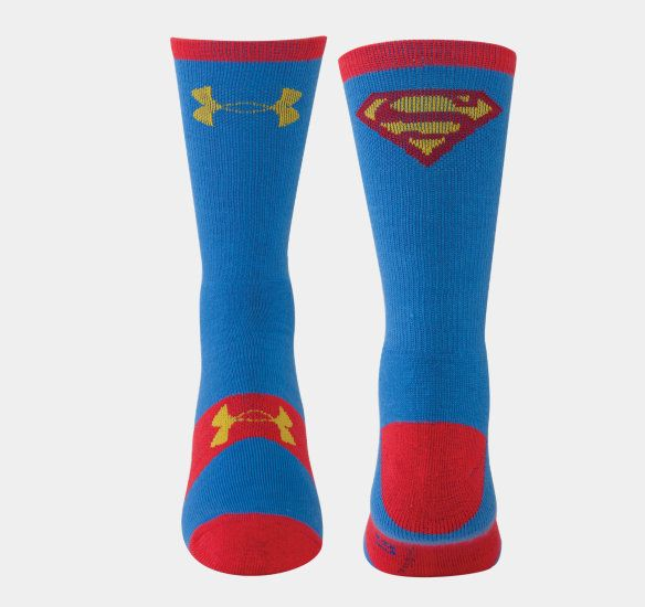 3b47216b23 Men's Under Armour® Alter Ego Superman Crew Socks   Under Armour US ...