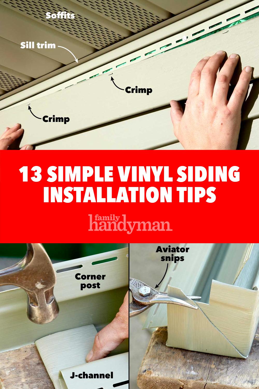 13 Simple Vinyl Siding Installation Tips In 2020 Vinyl Siding Installation Vinyl Siding Installing Siding