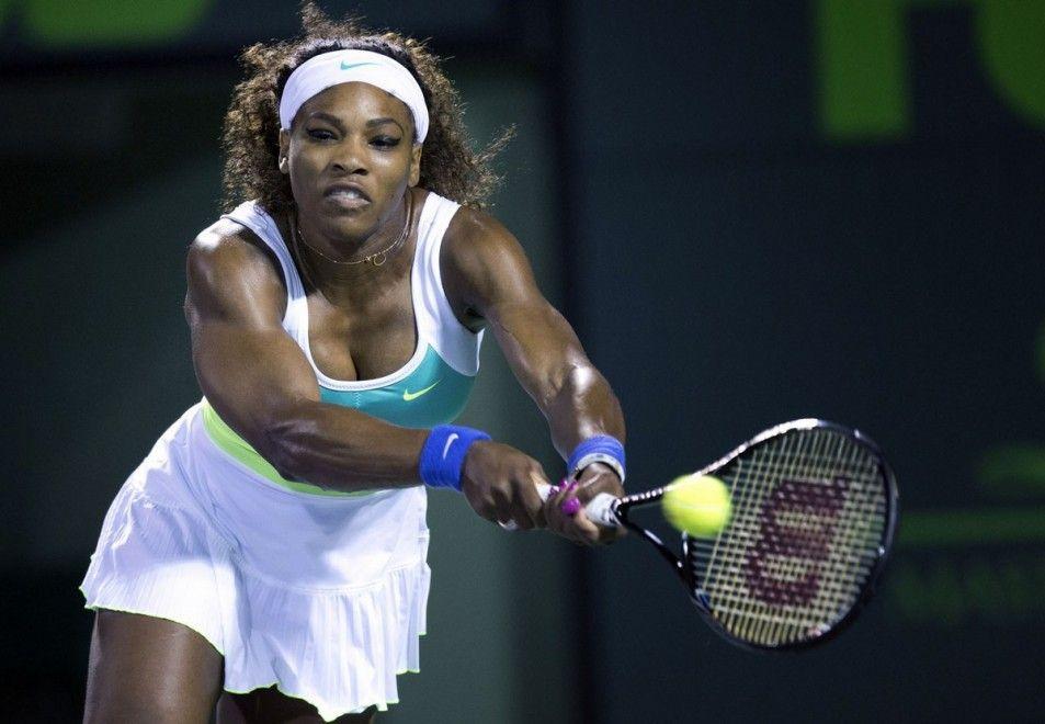 La tenista americana Serena Williams, novena con 5 millones de fans (1,4 en facebook y 3,5 en twitter)