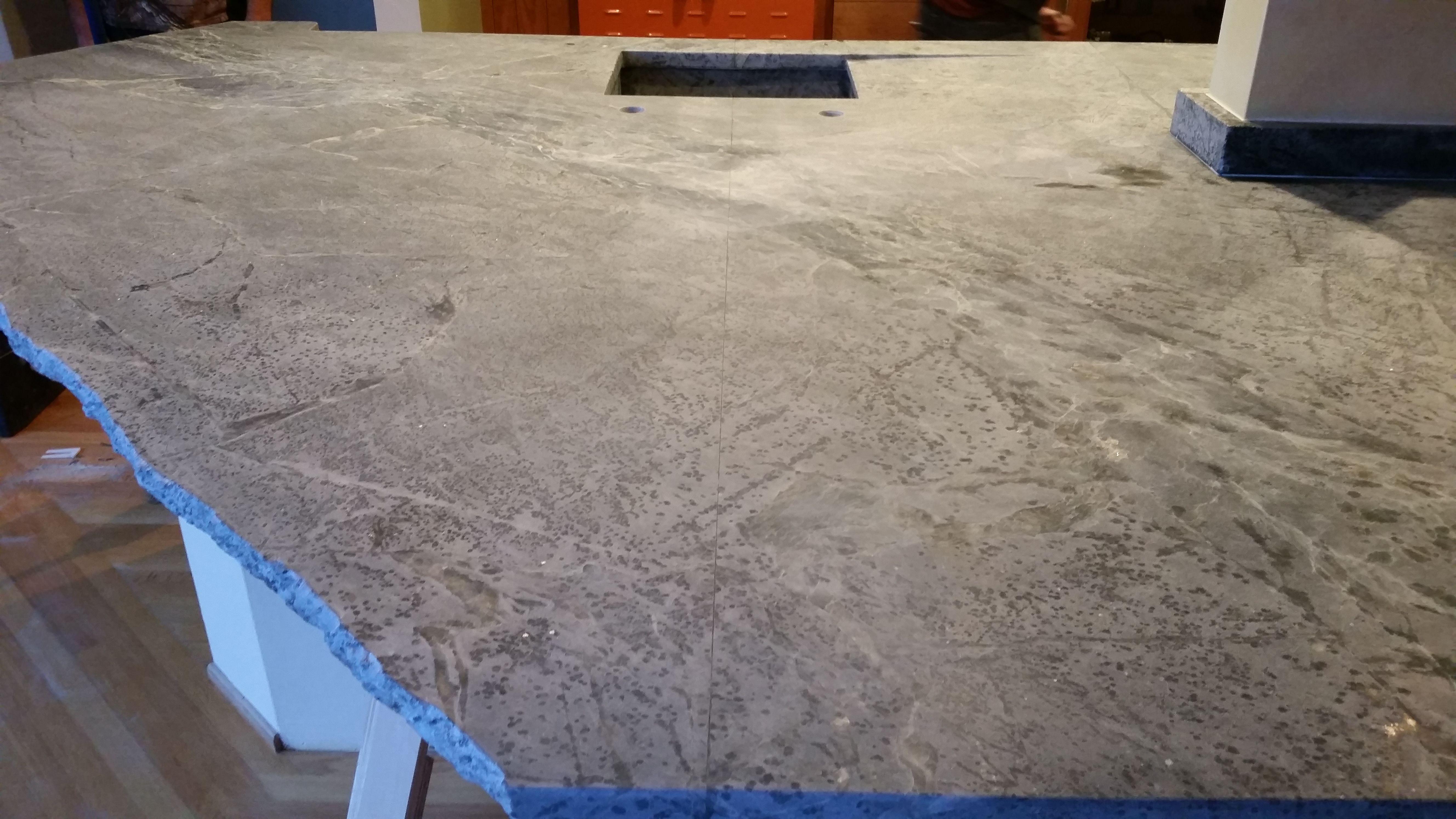 Soapstone Seams Marble Granite Countertops Soapstone Marble