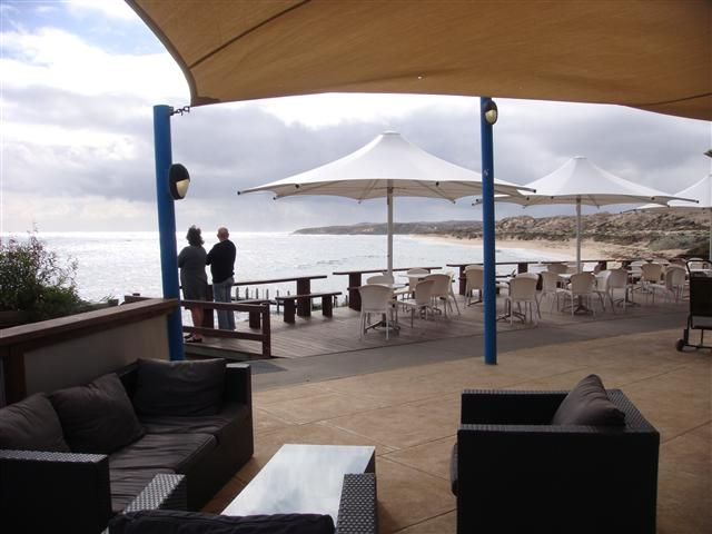 White Elephant Cafe, beachside dining with spectacular views