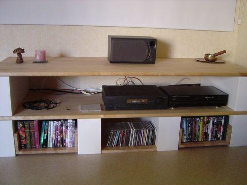 meuble hifi diy meuble tv