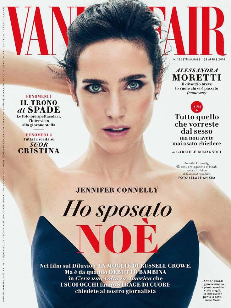 love this vanity fair italia cover layout design typography classic