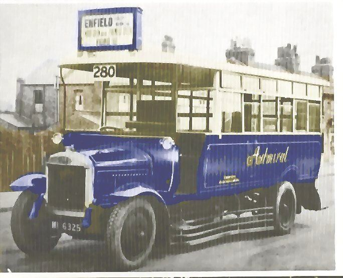 Admiral Omnibus Company Of Wood Green London