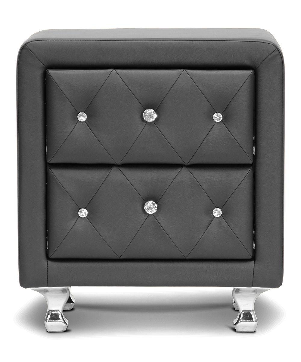 Best Black Stella Modern Nightstand Zulily Discount Bedroom 400 x 300