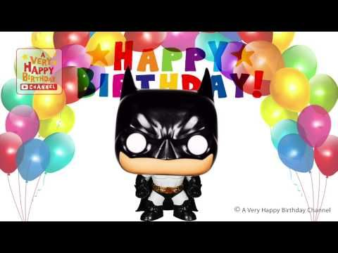 Batman Sings Happy Birthday Song Greetings Marvel Heroes Theme – Birthday Song Greetings