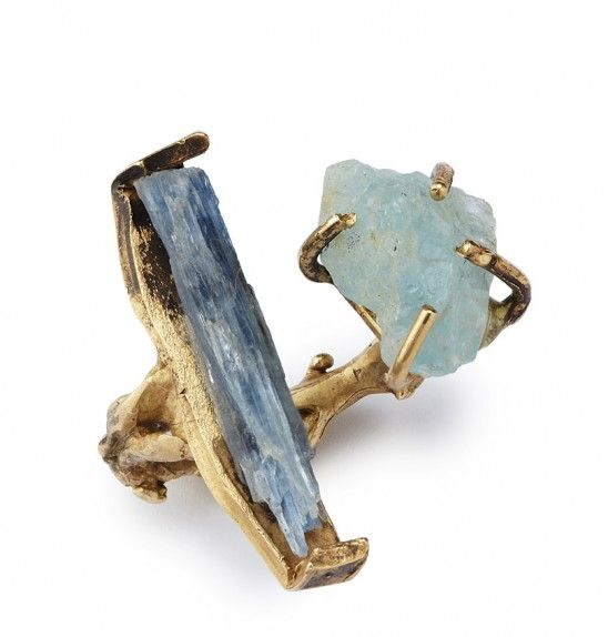 If the girl in your life is one to stand out and tends to go against the norm, this Waterfall Ring will quickly become one of her favorite treasures in her jewelry box!   $175   UncommonGoods