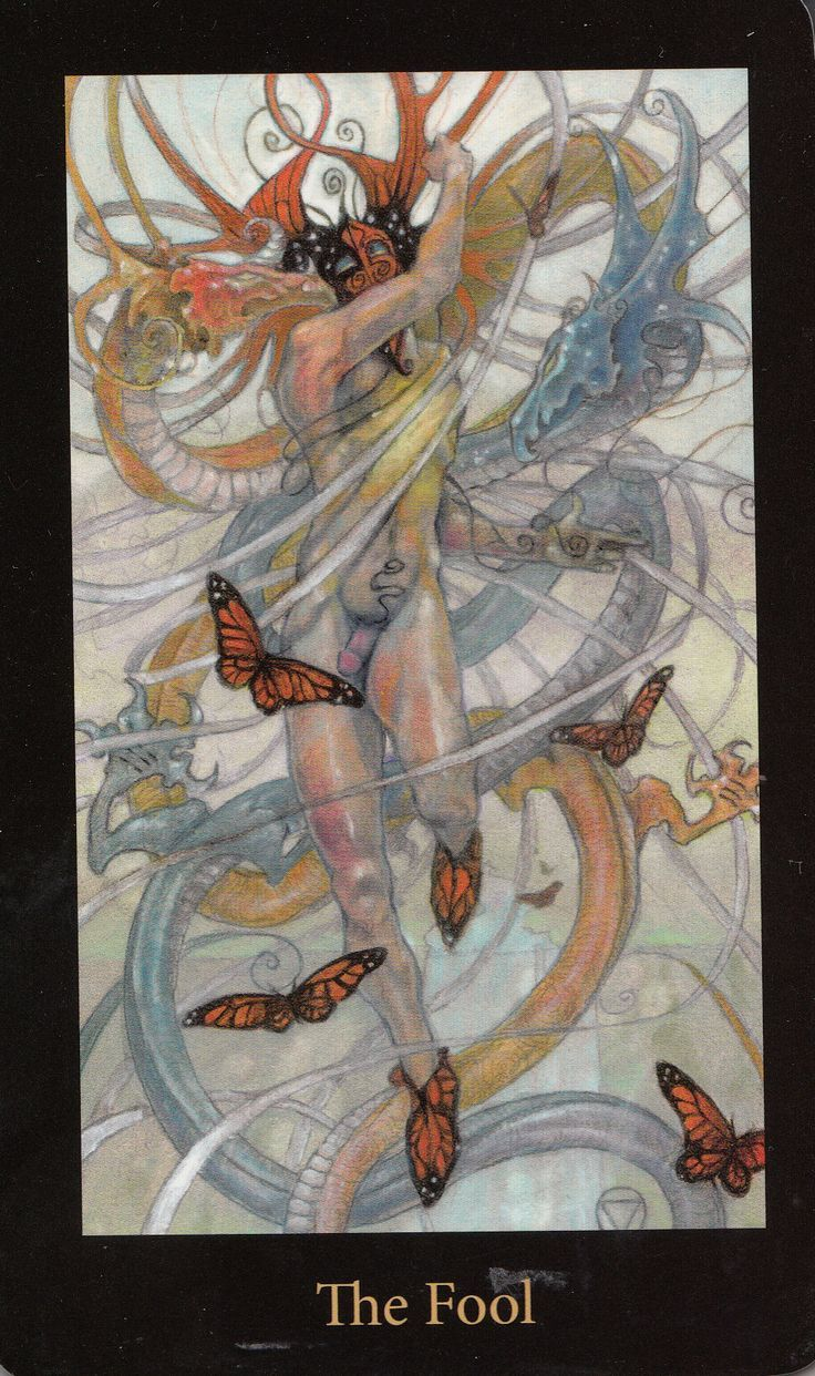 Image result for mary el tarot the fool