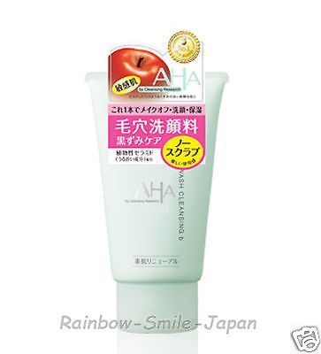 BCL AHA Cleansing Research WASH CLEANSING b 120g Skincare Cleansing Wash JAPAN