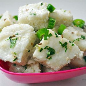 Farali Dhokla #Recipe | How to make Farali Dhokla - #Vegetarian Find out here: http://goo.gl/Y1NQQ9