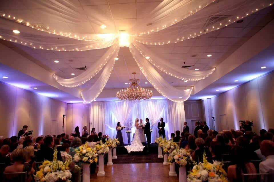 Indoor Ceremony At The Radisson Hotel Nashua Nh Weddings
