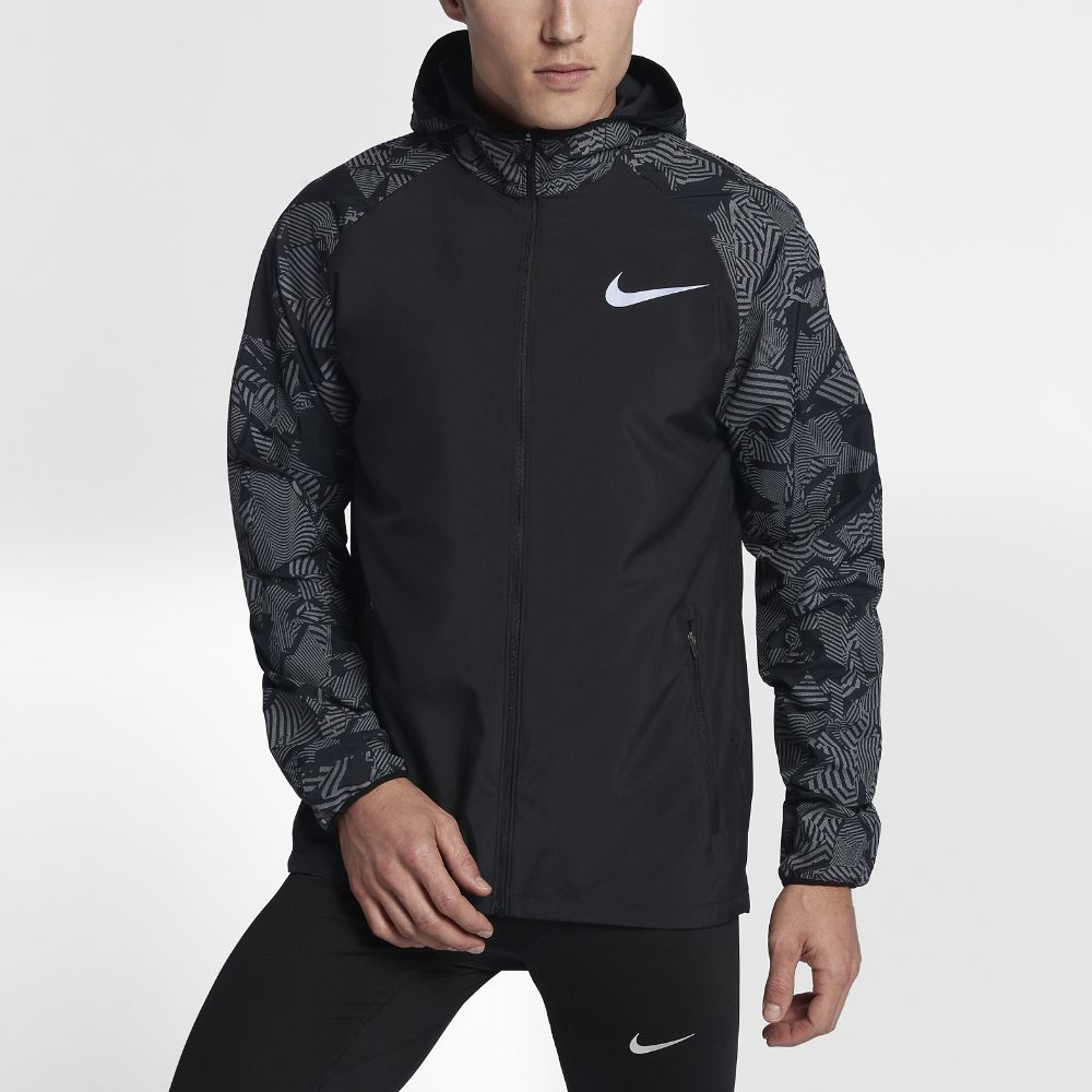 55262f6883 Nike Essential Flash Men's Reflective Running Jacket Size | Products ...