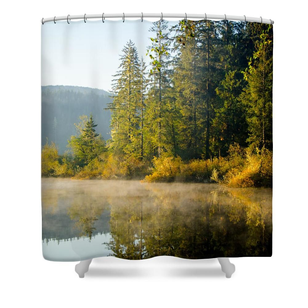 Fairy shower curtain - Good Roxy Shower Curtain Part 7 Autumn Sunrise Fairy Lake 3 Shower Curtain By