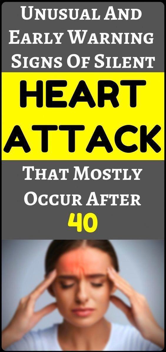 #Attack #Fitness #Health #Heart #Silent #Symptoms #Unusual Very unusual symptoms of a silent heart a...