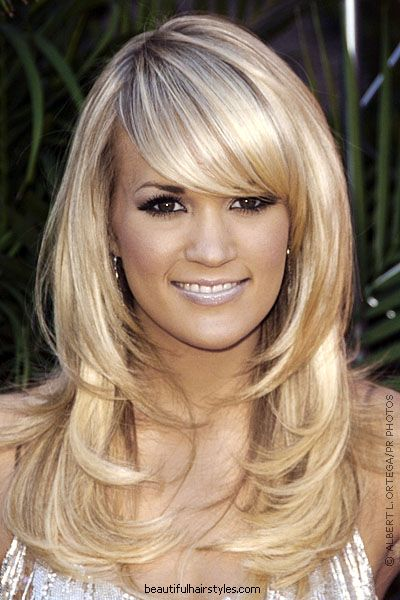 Hairstyles With Layers best 20 layered hairstyles ideas on pinterest medium length layered hairstyles layered hair and medium lengths 35 Best Female Celebrity Hairstyles That Will Reduce Length And Add Width To Your Long Face