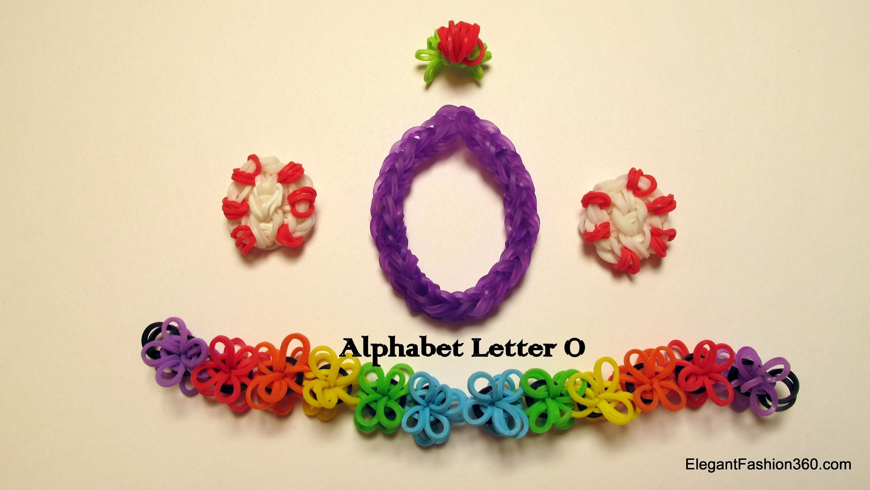 watch make on alphabet youtube how loom letter m bands charm rainbow to