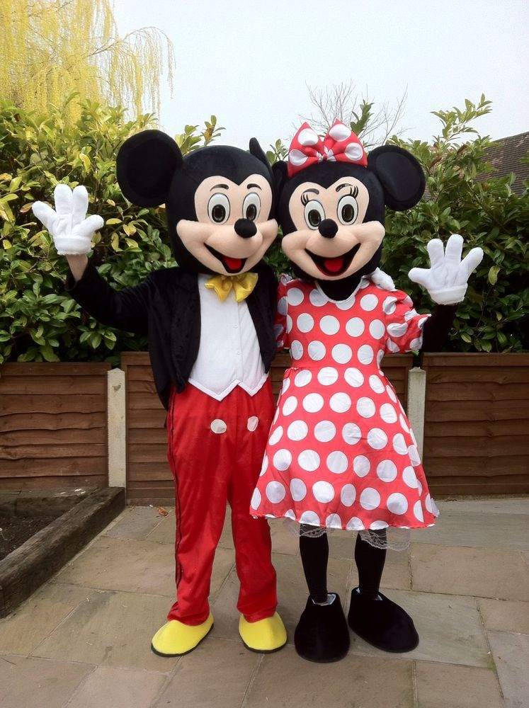 1c6f80ae4 Hire MICKEY MOUSE OR MINNIE MOUSE - Adult Mascot Costume mascot hire for  kids party #GotADiscount @eBay_UK and #ebayguides.