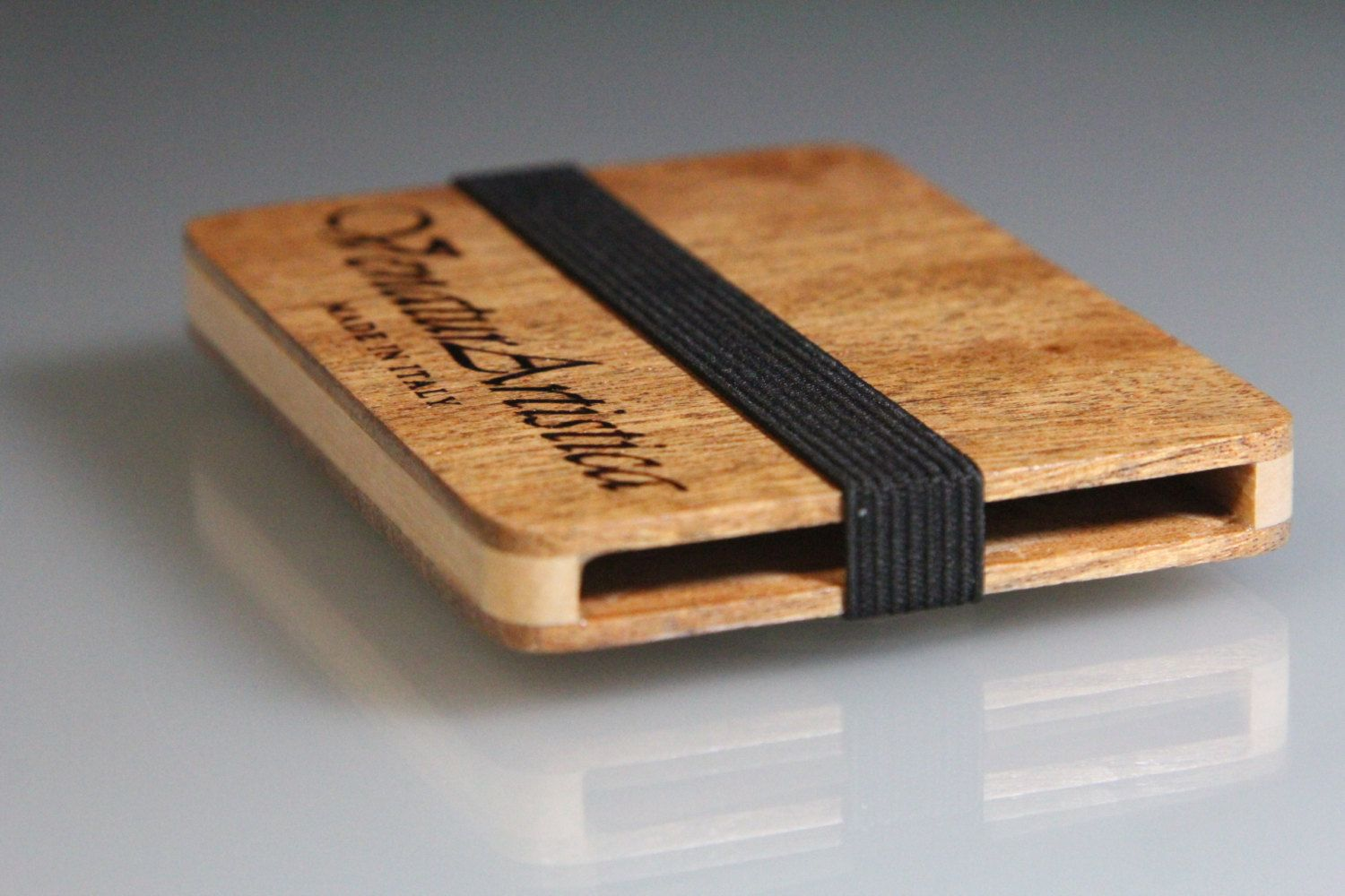 Wooden wallet business card holder wood wallet card wallet wooden wallet business card holder wood wallet card wallet personalized gift gift for him gift for her anniversary gift reheart Choice Image
