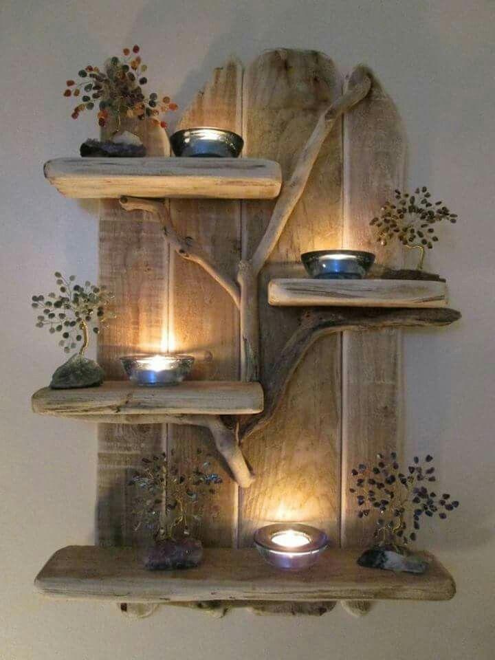 DIY with wood Projets à essayer Pinterest Bois, Bricolage et
