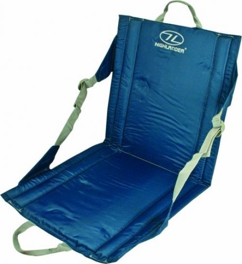 Outdoor Foldin Seat Blue Adjustable Pocket Camping Beach Festival Portable  Chair
