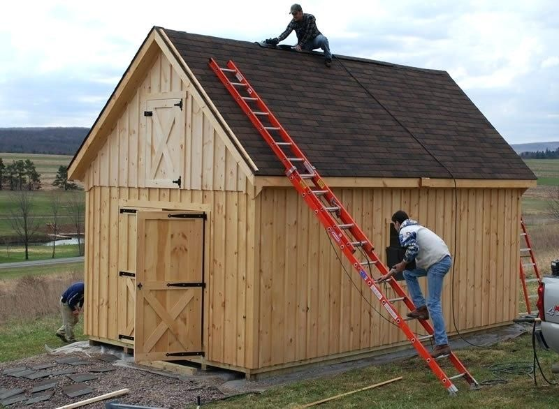 12x20 Shed With Loft Shed Plans 12x20 Lofted Barn Cabin 12x20 Barn Cabin Loft Lofted Plans Shed In 2020 Shed Design Shed With Loft Shed Plans