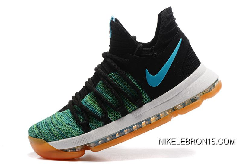 40f4a6d3a6d3 ... usa buy online nike kd 10 green black white men shoes kevin durant from  reliable online