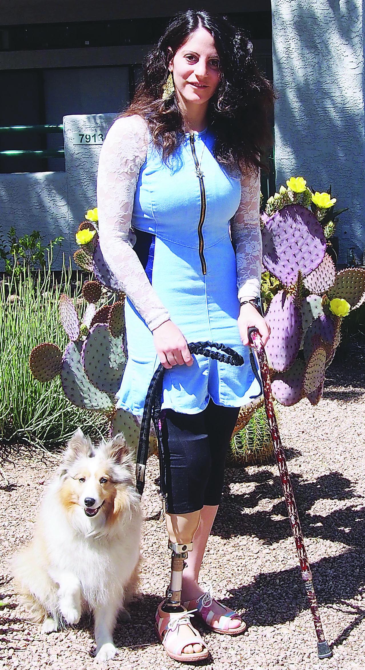 Local Womans Pet Proves Its Dedication As Handi Dog, Az Jewish