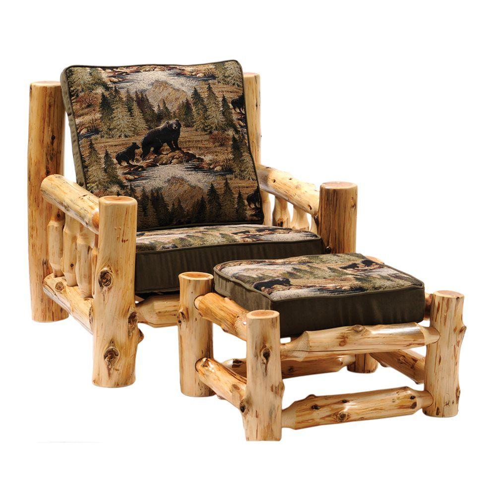 Shop Fireside Lodge Furniture 13010 Cedar Log Frame Lounge
