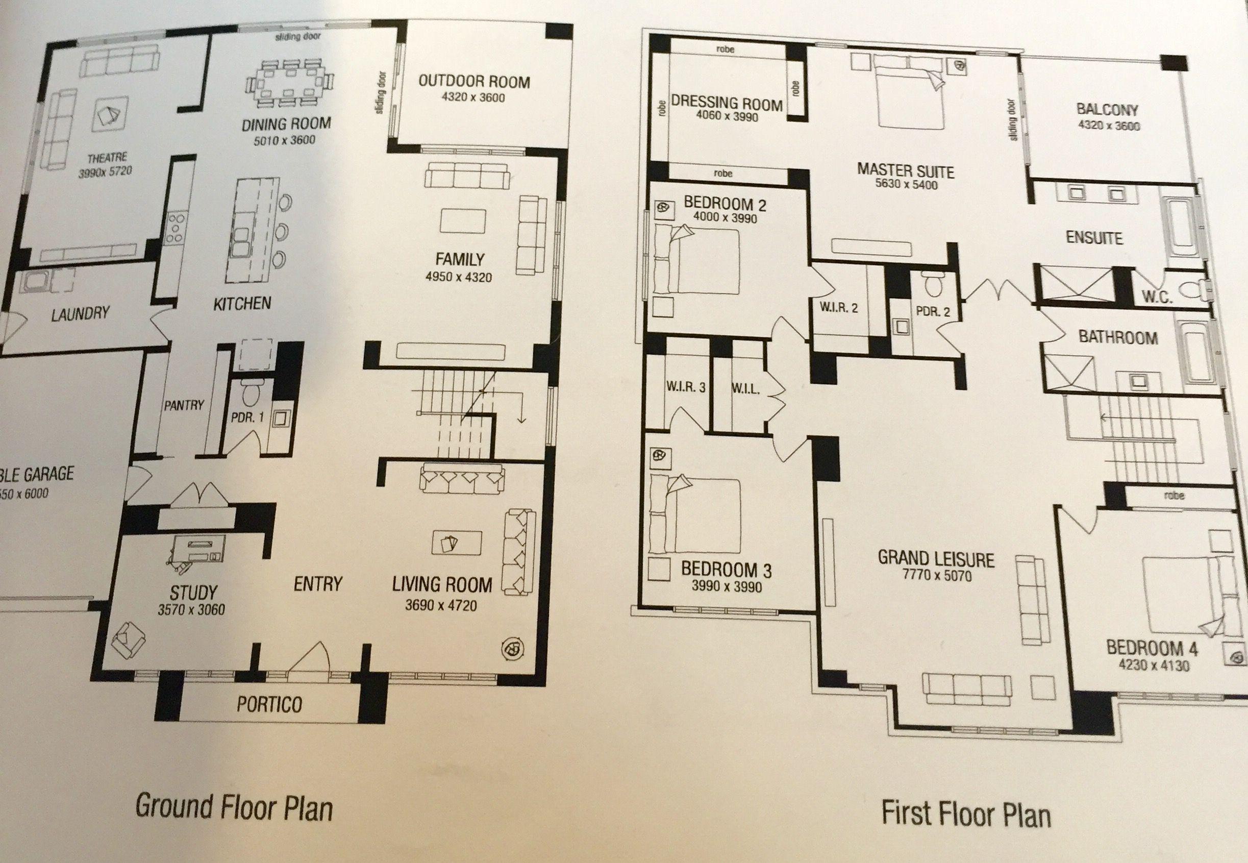 Our Home Floor Plans Franklin 53 Casas