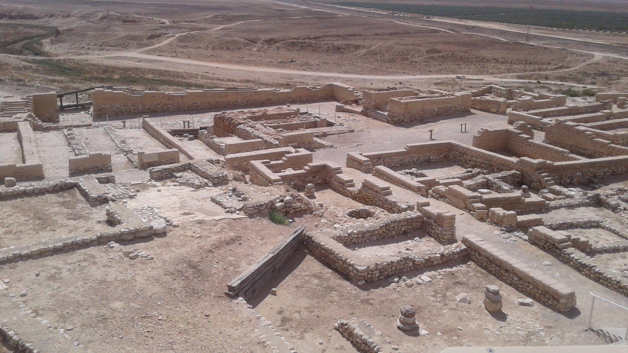 Tel Be'er Sheva National Park,...