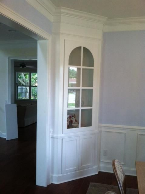 Built In China Cabinet Corner Cabinet Dining Room Dining Room