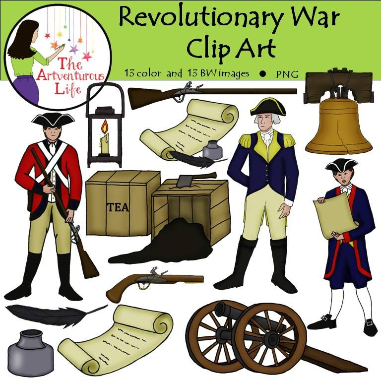 revolutionary war clip art liberty bells revolutionaries and clip art rh pinterest com american revolutionary war clipart revolutionary war flag clipart